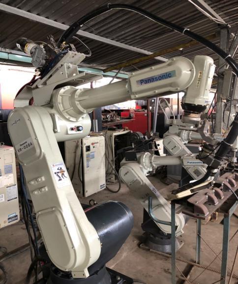 robot hàn panasonic cũ